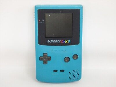 JUNK Nintendo Game Boy Color BLUE Gameboy Console CGB-001 Not Working 41235 gb
