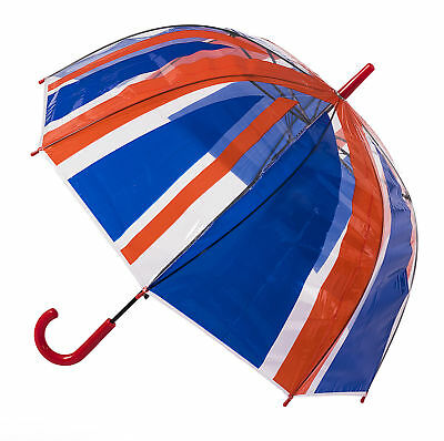 Soake Clear Dome Umbrella - Union Jack