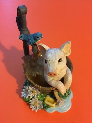 Squeaky Clean From Farm Livin' Collection The Hamilton Collection Figurine