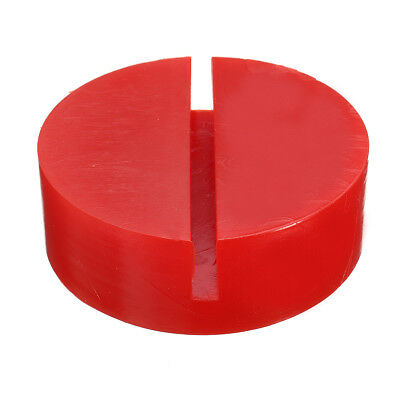 Universal Floor Jack Disk Pad Adapter Fits For Pinch Weld Side Rail Stand Red US