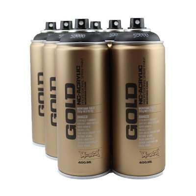 Montana Gold Spray Paint - 6 Can Deal - 400ml Cans