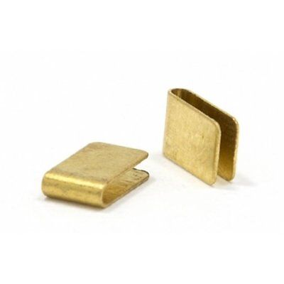 JK 10 pair of Pre-bent Brass Guide Clips for 1/24 Slot Car
