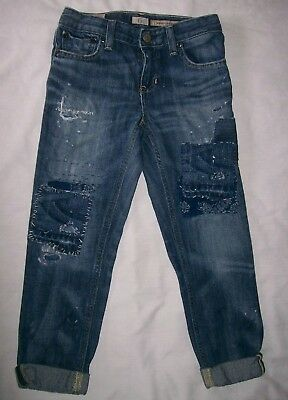 Children's Ralph Lauren Polo Distressed Boyfriend Skinny Jeans Pants Size 6