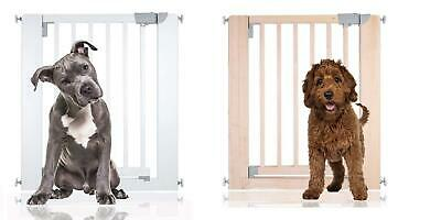 Chunky Wooden Dog Gate Safetots Premium Indoor Pet Gate Various Colours Sizes
