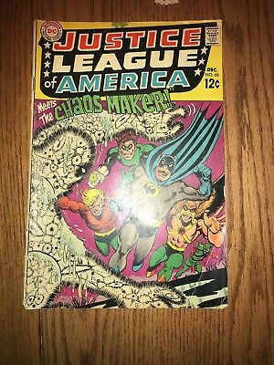 Justice League of America #68 (Dec 1968, DC)