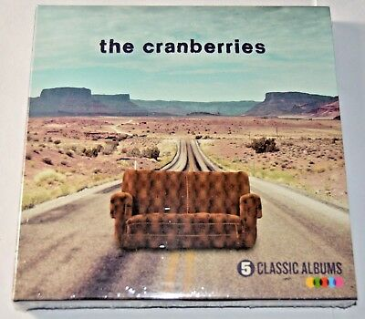 The Cranberries – 5 Classic Albums -  NEW 5 CD Box Set  / SEALED