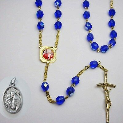 SPECIAL Rosary - Pope John Paul II - Canonization - Saint - Blue