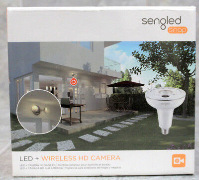 Sengled Snap Security Floodlight with Built-In HD Camera and Two-Way Speaker/Mic
