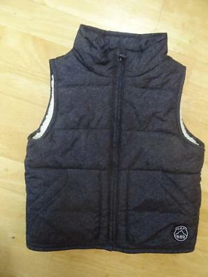 GAP boys navy blue padded gilet bodywarmer AGE 3 YEARS EXCELLENT CONDITION