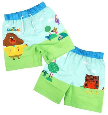 Boys Official Hey Duggee Mesh Insert Swim Beach Shorts 1.5 to 5 Years