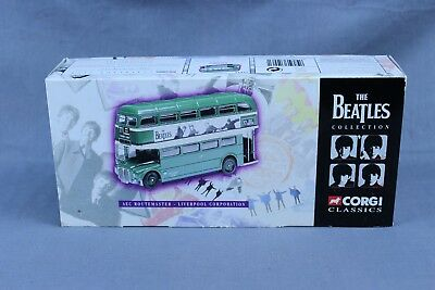 Corgi Classics The Beatles Collection Aec Routemaster Bus Die Cast Mint In Box