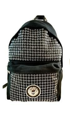 c0821a92aa Nwt Authentic Versace Versus Black Fashion Backpack   It0917102