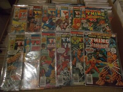 MARVEL TWO-IN-ONE 18,21-22,24-26,32-33,35-38 The THING  fn+  vfn+