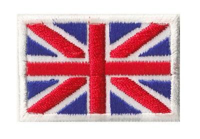 Petit écusson patche patch thermocollant Royaume Uni Union Jack 45x30 mm