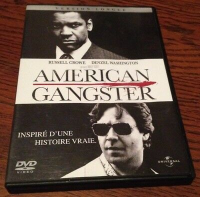- DVD -  AMERICAN GANGSTER avec RUSSELL CROWE.DENZEL WASHINGTON .Version longue