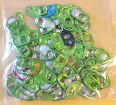 90 Monster Energy Tabs Drink Can Soda Pop Tops Pull Tabs for MONSTER GEAR