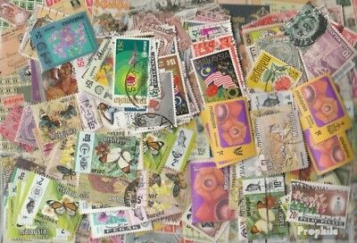 Malaysia 2.000 different stamps