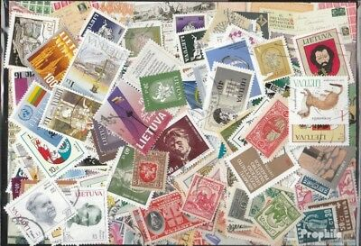 Lithuania 500 different stamps
