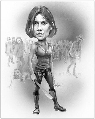 Don of The Walking Dead 11x14-in Maggie Art Print