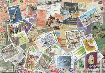 Finland-Aland 100 different stamps