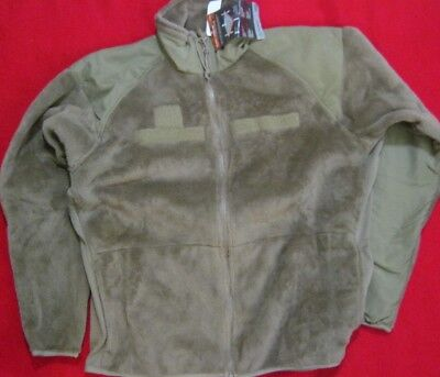Army L3 Polartec Thermal Pro Coyote Fleece Jacket Issue Nwt Ecwcs Level 3