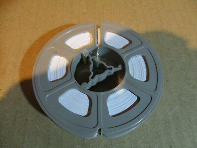8MM 50   Ft Reel Of Brand New White   Leader /