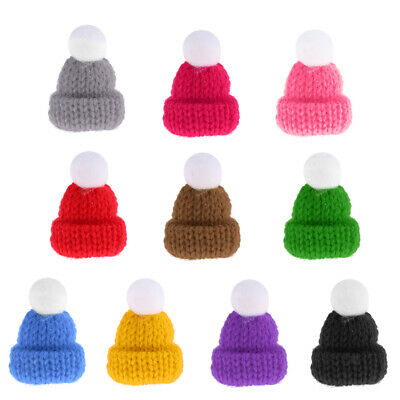 1:12 Scale Hats Dolls House Miniature Clothing Accessories Home Room Decor