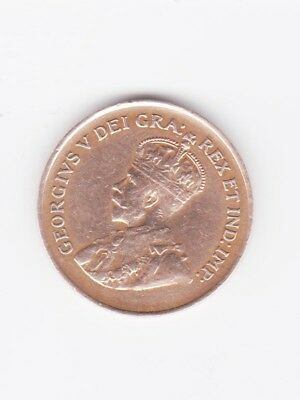 1933 Canadian Penny == Clean & Bright = No Smeary Stains = No Ugly 'Toning.'