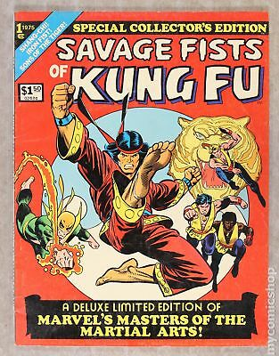 Savage Fists of Kung Fu Treasury #1 1975 VG 4.0