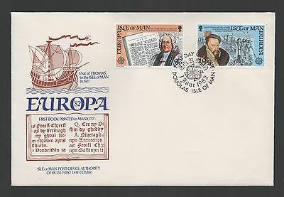 Isle of Man 1982 FDC Europa Historic Events