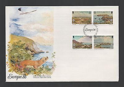 Isle of Man 1986 FDC Europa Nature and Environment Protection