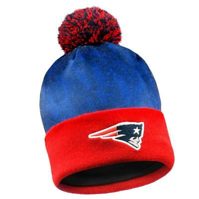 12ee7bfb NEW ENGLAND PATRIOTS Forever Collectibles NFL Team Logo Light Up Beanie FREE