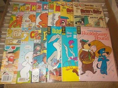 HUCKLEBERRY HOUND 42 1970 + 11 other cartoons   vg+  vfn+