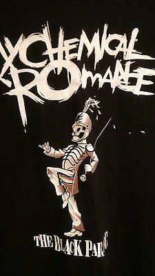 Mens MEDIUM MY CHEMICAL ROMANCE Black Parade Hot Topic T-shirt PUNK GOTH EMO