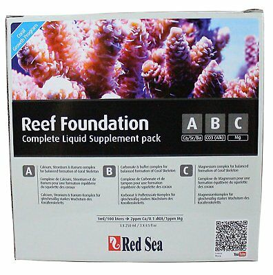 Red Sea Reef Foundation Complete Set A B C R22006 for Coral