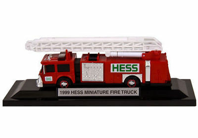 1999 Hess Miniature Fire Truck New In Sealed Box Mini Mint Condition  Case Of 24