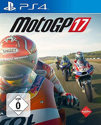 Moto Gp 17 Moto Gp 2017 PS4 PLAYSTATION 4 Nuovo + Conf. Orig.