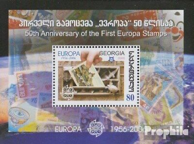 georgia block36 (complete issue) unmounted mint / never hinged 2006 50 years Eur
