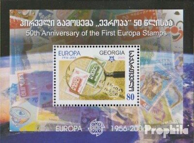 georgia Block37 (complete issue) unmounted mint / never hinged 2006 50 years Eur