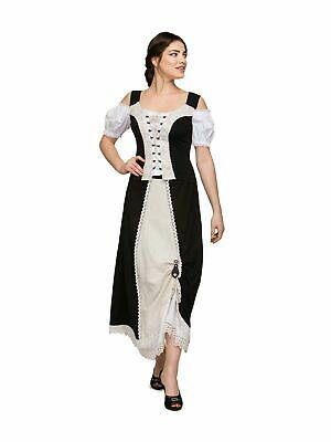 Stockerpoint Costume Skirt Country Long Ranja Black
