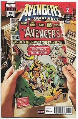 Avengers #676 No Surrender 1St Appearance Voyager Mark Brooks Cover A Nm