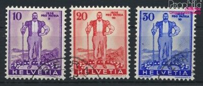 Switzerland A294-A296 (complete.issue) used 1936 Pro Patria (9045596