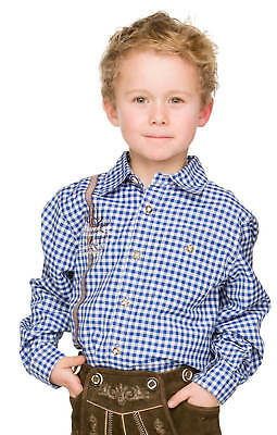 Children Costume Shirt Leopard Blue
