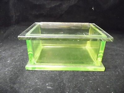 Antique Teabury Gum Vaseline ( Uranium ) Box With Lid