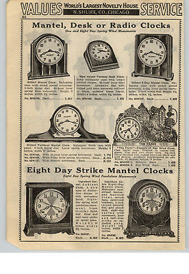 1940 PAPER AD The Farm Electric Clock American Made Cuckoo Clocks Swiss Chalet