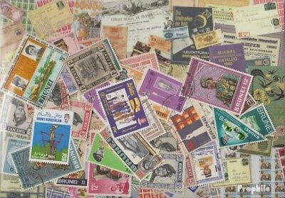 Brunei 50 different stamps
