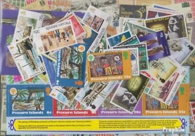 Pitcairn 50 different stamps