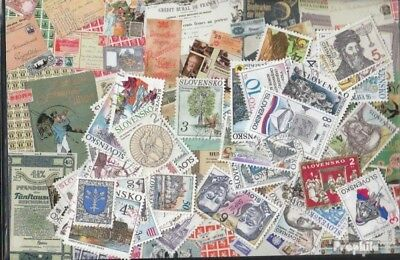 Slovakia 100 different stamps