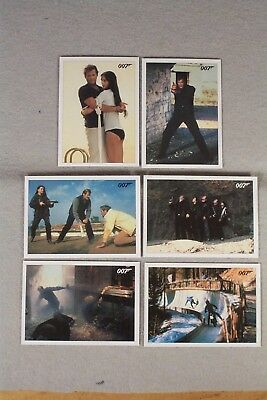 FOR YOUR EYES ONLY 6-card Lot, 3,14,23,28,31,33 ARCHIVES FINAL EDITION 2017