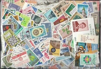 Iceland 500 different stamps